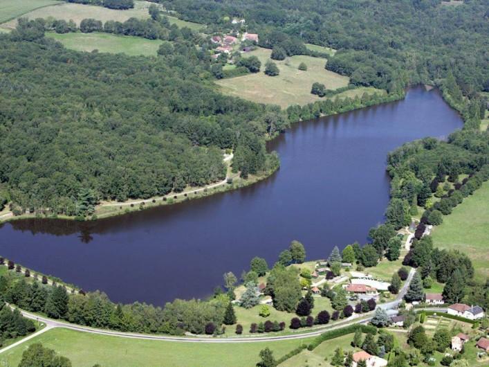 Location de vacances - Chalet à Miallet - Vue du ciel