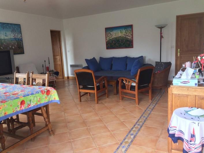 Location de vacances - Maison - Villa à Île-d'Aix - salon