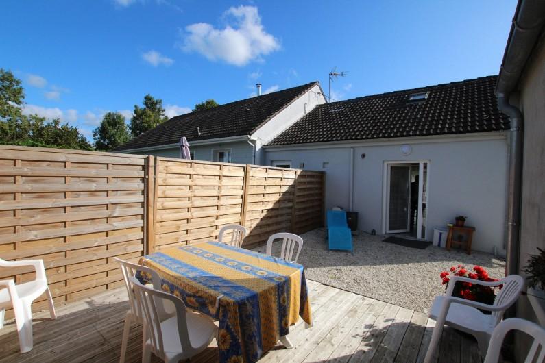 Location de vacances - Appartement à Yvetot-Bocage - TERRASSE Sud OUEST