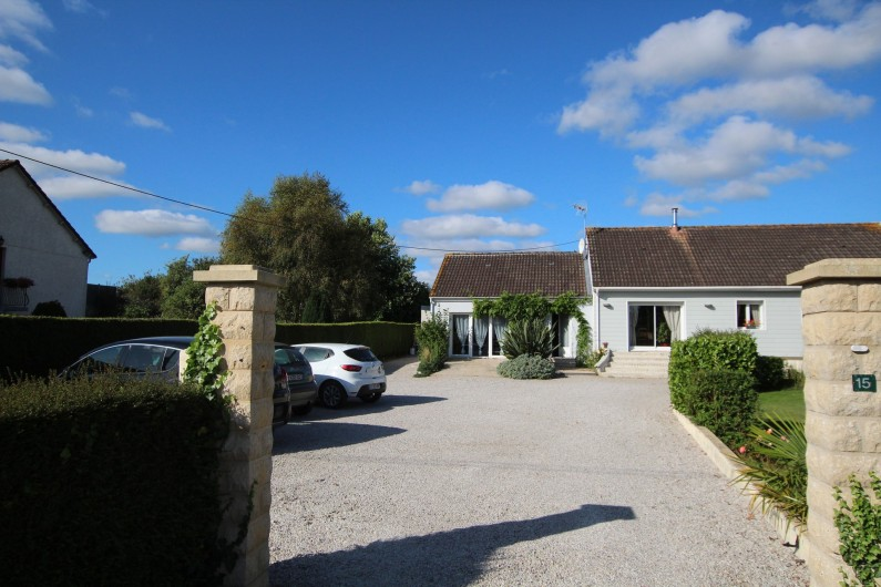 Location de vacances - Appartement à Yvetot-Bocage - COUR PARKING