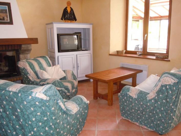 Location de vacances - Gîte à Trédrez-Locquémeau - Salon