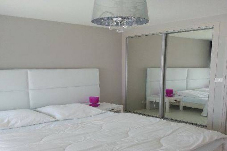Location de vacances - Appartement à Saint-Malo - chambre mezzanine