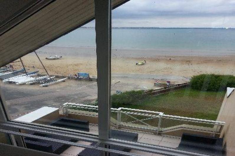 Location de vacances - Appartement à Saint-Malo - vue de la chambre mezzanine