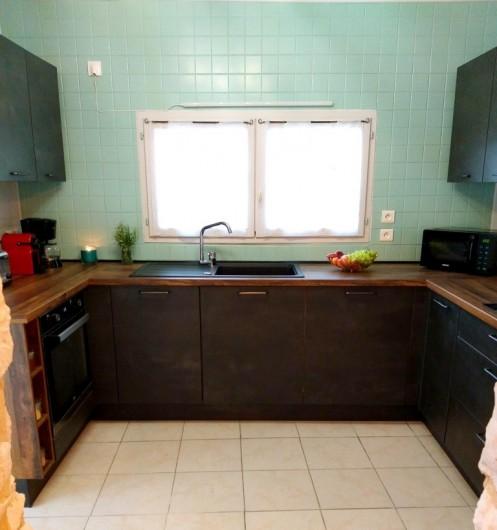 Location de vacances - Gîte à Labastide-de-Penne - cuisine