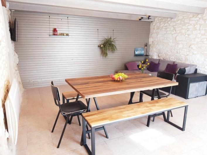 Location de vacances - Gîte à Labastide-de-Penne - pièce de vie