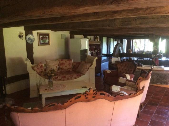 Location de vacances - Chambre d'hôtes à Heurtevent - Le Pressoir ( 7 p -Chambre #6 )