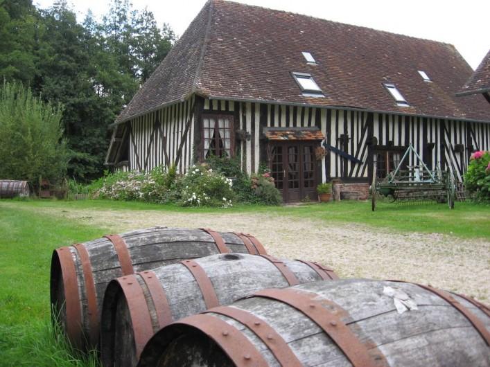 Location de vacances - Chambre d'hôtes à Heurtevent - Le Pressoir (7p )