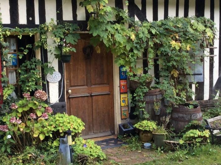 Location de vacances - Chambre d'hôtes à Heurtevent - Entrée Pet Des