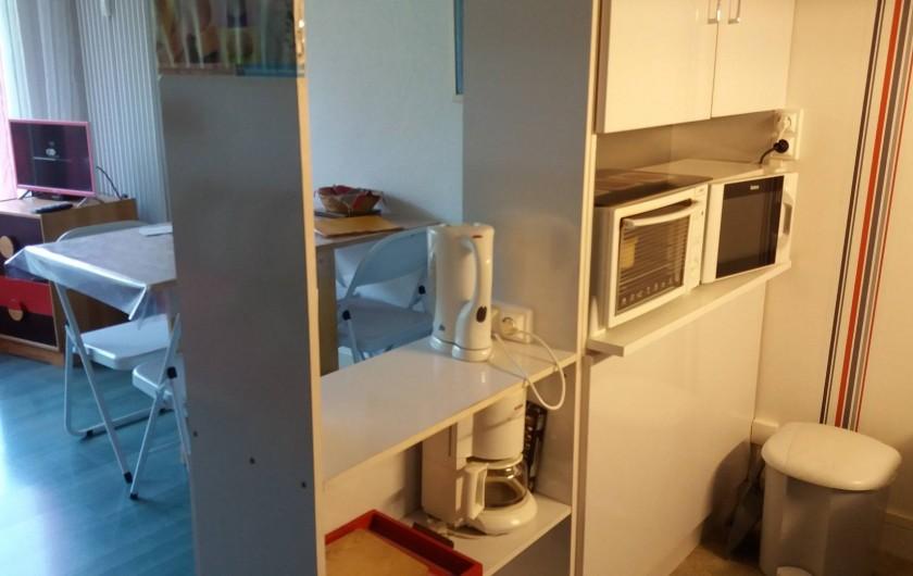 Location de vacances - Studio à Le Lioran - de la cuisine