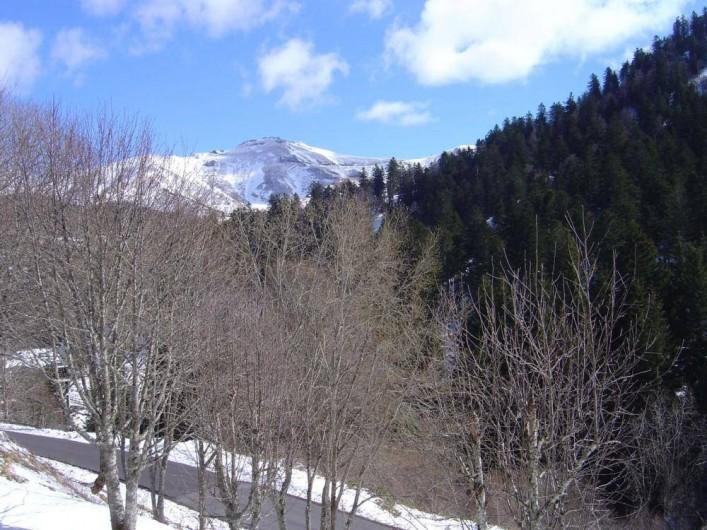 Location de vacances - Studio à Le Lioran - vue du balcon
