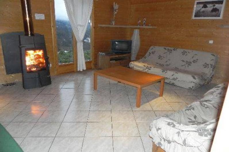 Location de vacances - Chalet à Les Orres - intérieur du melezet