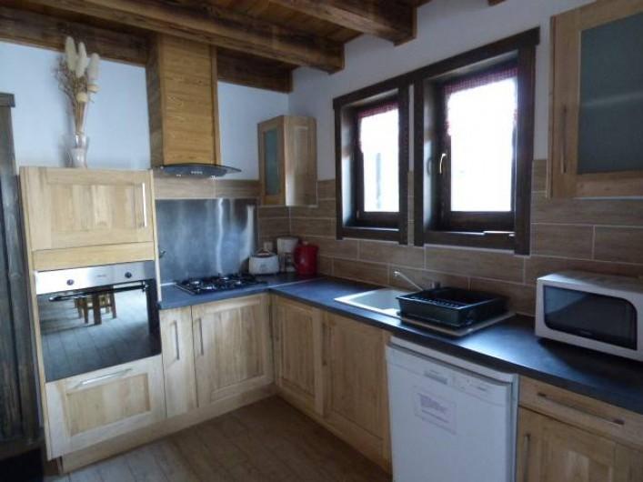 Location de vacances - Chalet à Les Orres - cuisine du cristal