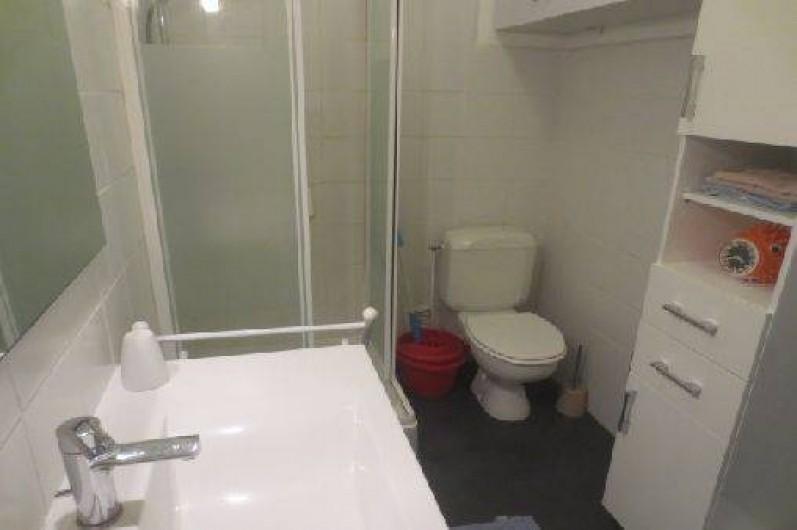 Location de vacances - Appartement à Canet-en-Roussillon - Salle de bain/douche