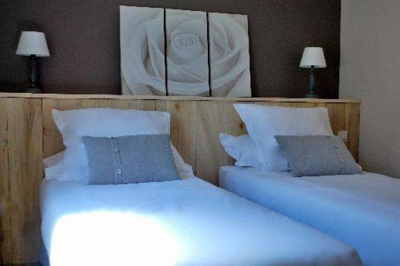 Location de vacances - Gîte à Sarlat-la-Canéda - chambre 2 lits ou 1 grand lit