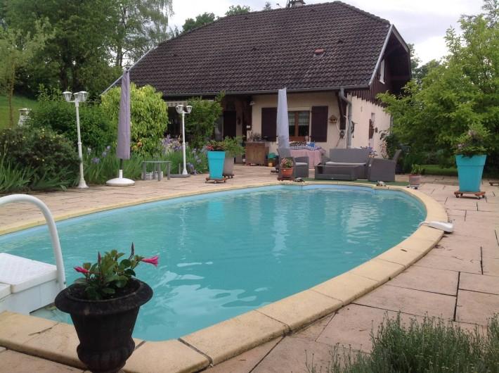 Location de vacances - Villa à Annecy - Ma villa avec piscine
