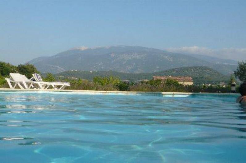 Location de vacances - Gîte à Mollans-sur-Ouvèze