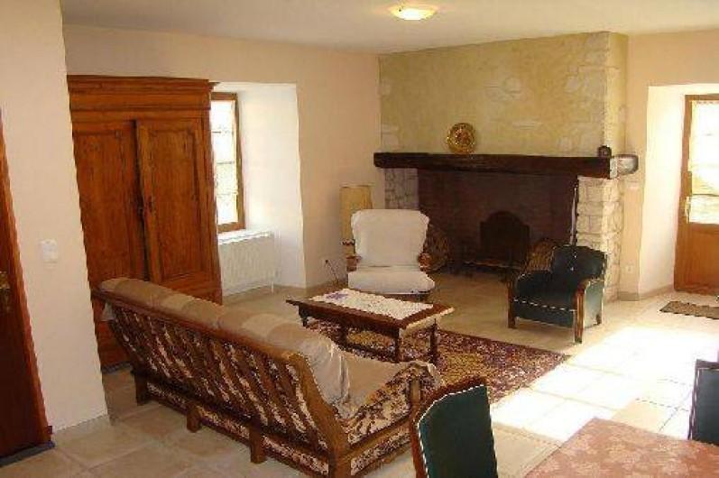 Location de vacances - Gîte à Bun - Espace pièce à vivre /salon