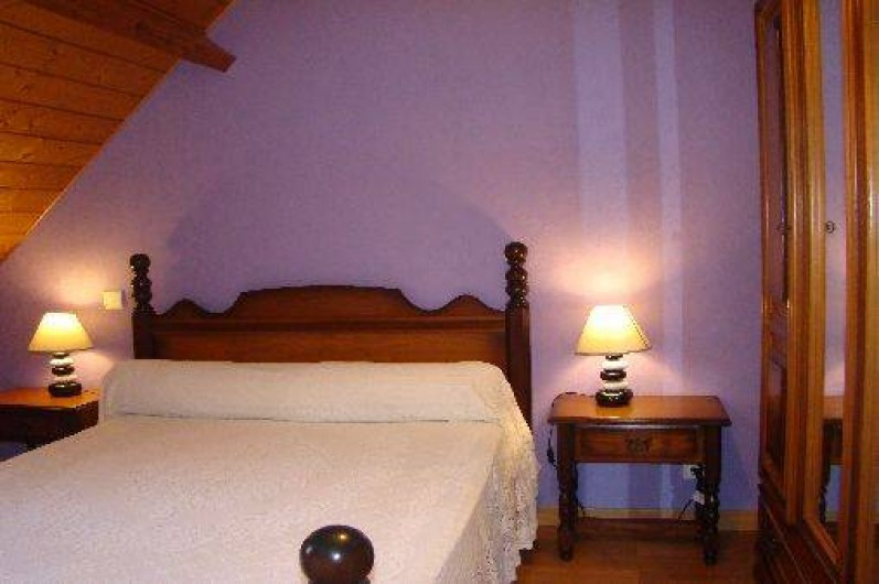 Location de vacances - Gîte à Bun - chambre lit 140