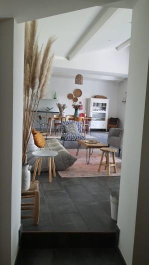 Location de vacances - Villa à La Brée-les-Bains - Salon