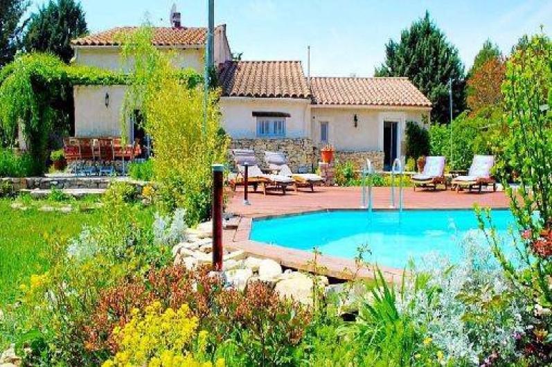 Location de vacances - Maison - Villa à Rognes