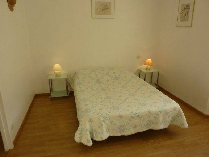 Location de vacances - Appartement à Cransac - Chambre lit 140