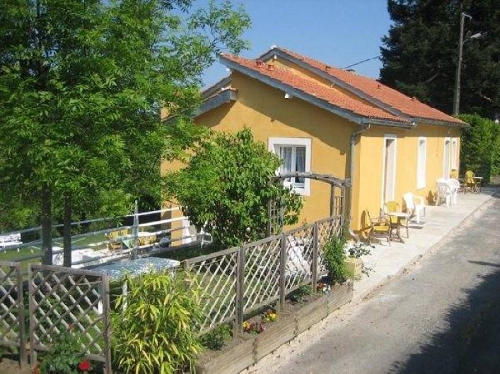 Location de vacances - Appartement à Cransac - Entrée du Gîte