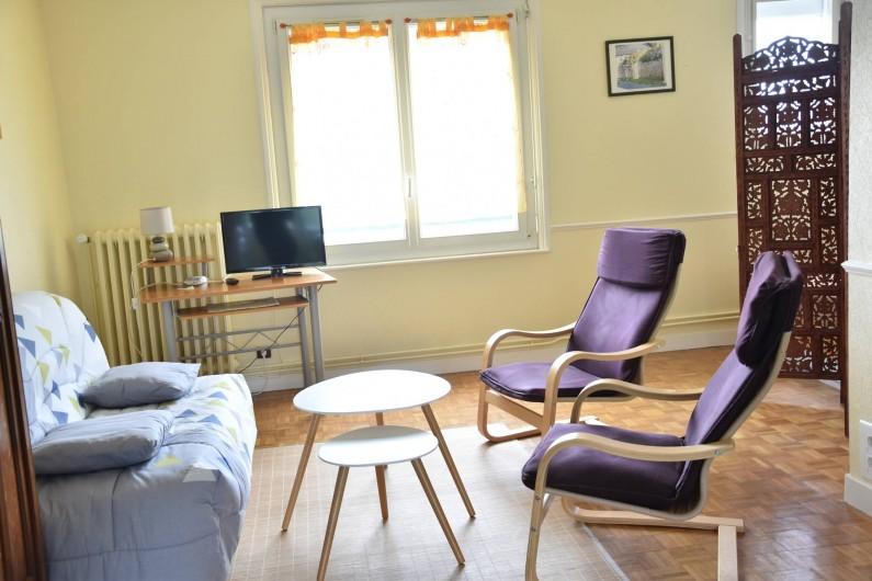 Location de vacances - Appartement à Belz - salle à manger