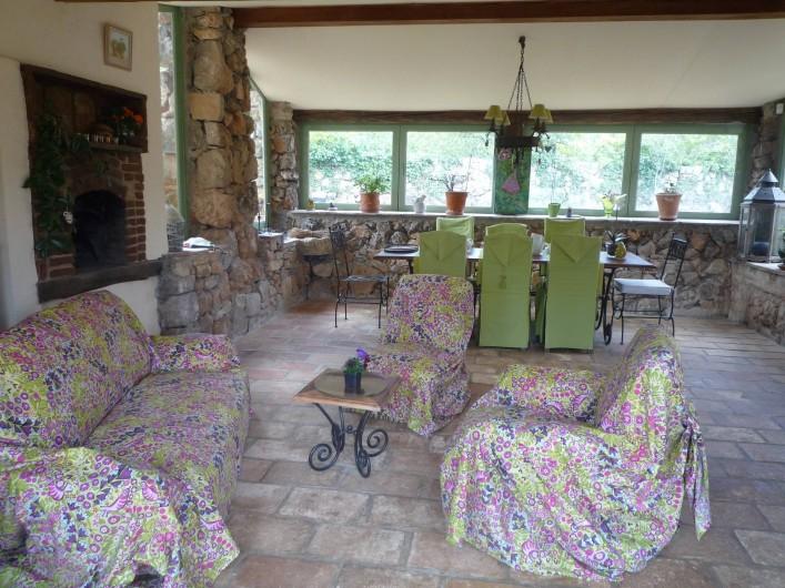 Location de vacances - Chambre d'hôtes à Montauroux - Salon