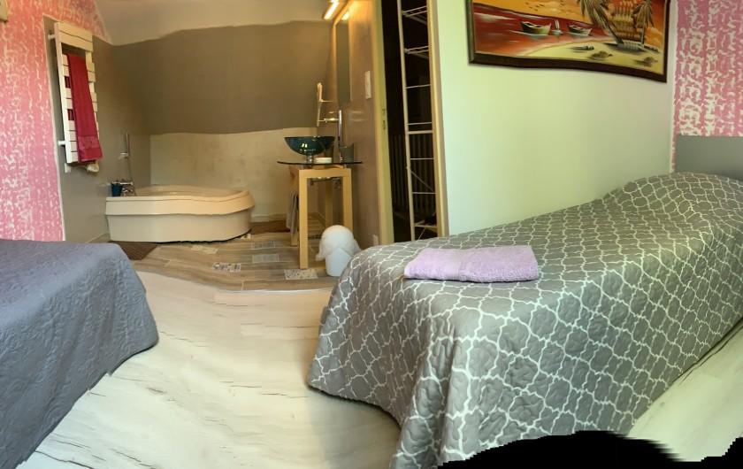Location de vacances - Chambre d'hôtes à Mesquer - mini suite tango  saison 2020