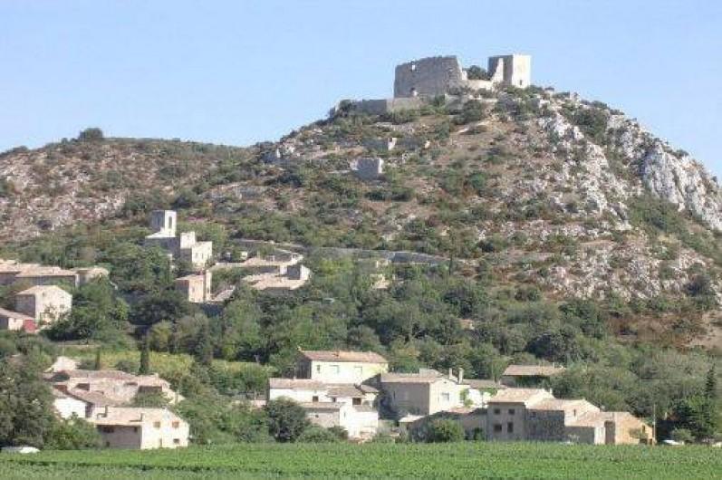 Location de vacances - Studio à Saint-Victor-la-Coste - Saint Victor entre vignes et collines