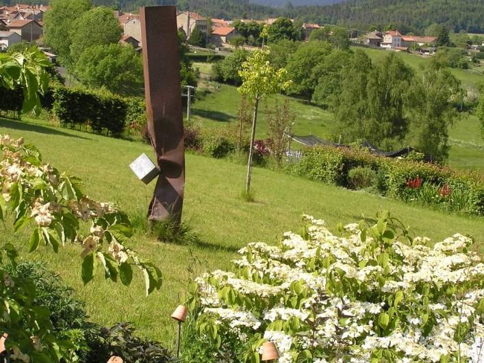 Location de vacances - Gîte à Champagnac-le-Vieux - Le jardin