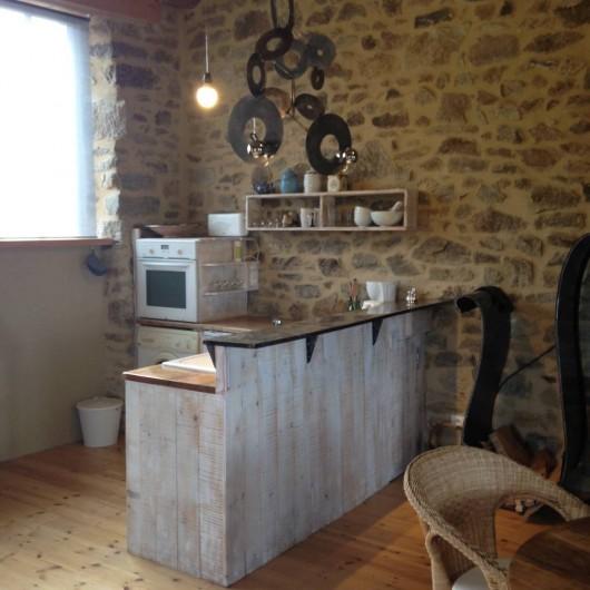 Location de vacances - Gîte à Champagnac-le-Vieux - cuisine