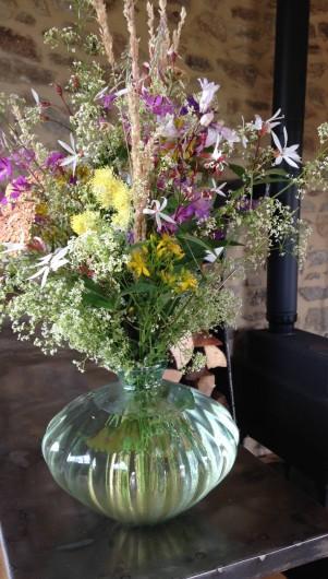 Location de vacances - Gîte à Champagnac-le-Vieux - Bouquet de bienvenue