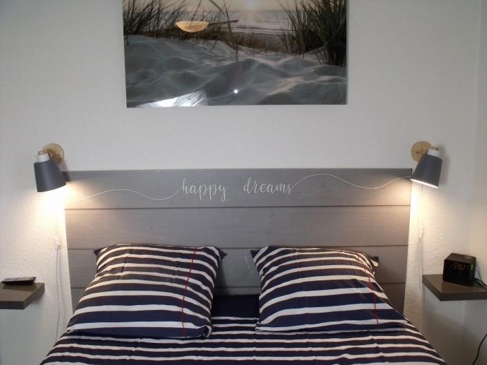 Location de vacances - Appartement à Le Grau-du-Roi - Balcon avec soleil jusqu'au couchant