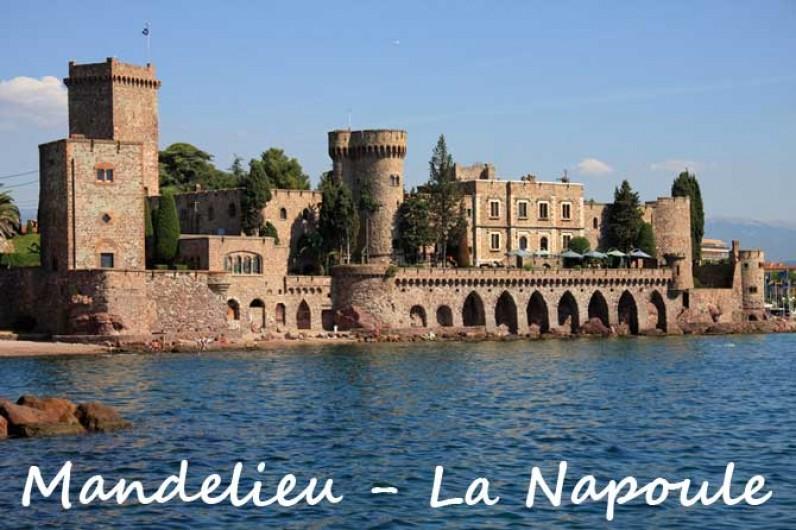Location de vacances - Maison - Villa à Mandelieu-la-Napoule - Le chateau