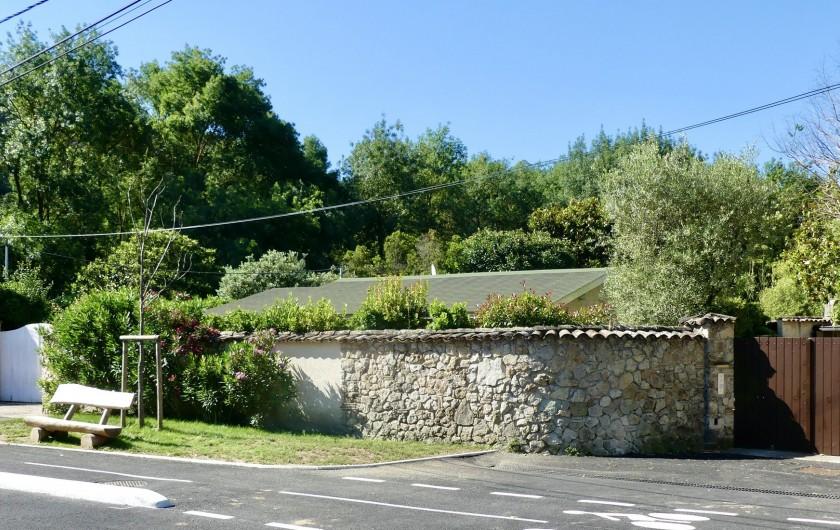 Location de vacances - Maison - Villa à Mandelieu-la-Napoule - Entrée