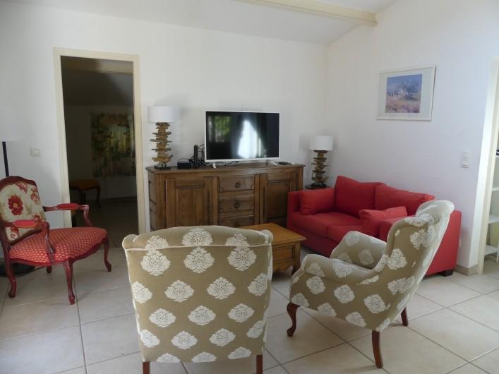Location de vacances - Maison - Villa à Mandelieu-la-Napoule - salon