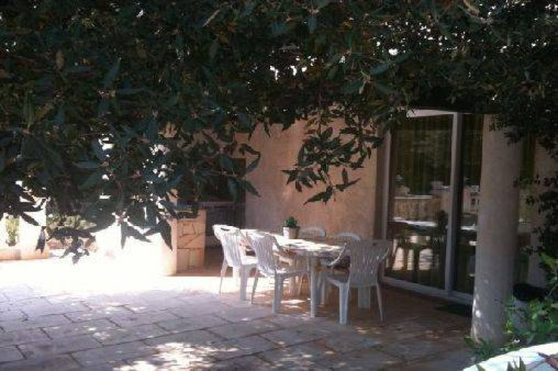 Location de vacances - Gîte à Néoules - Salle à manger extérieure