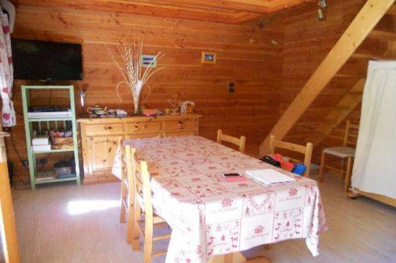 Location de vacances - Chalet à Montclar - Séjour