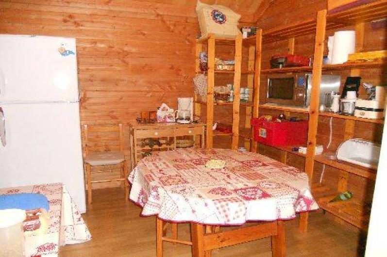 Location de vacances - Chalet à Montclar - Arrière cuisine