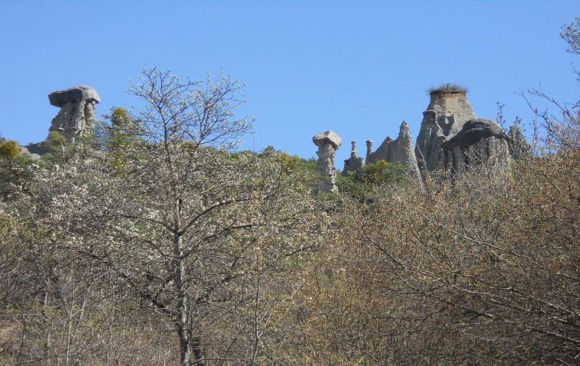 Location de vacances - Chalet à Montclar - Les Demoiselles Coiffées