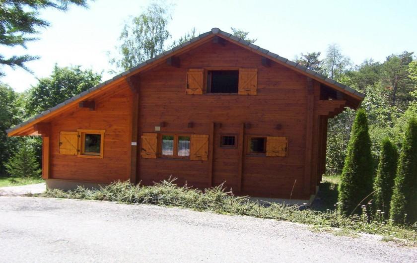 Location de vacances - Chalet à Montclar - Arrivée Hameau des Grangettes Face Nord