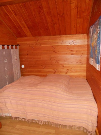 Location de vacances - Chalet à Montclar - Chambre 2 1 lit 2 places