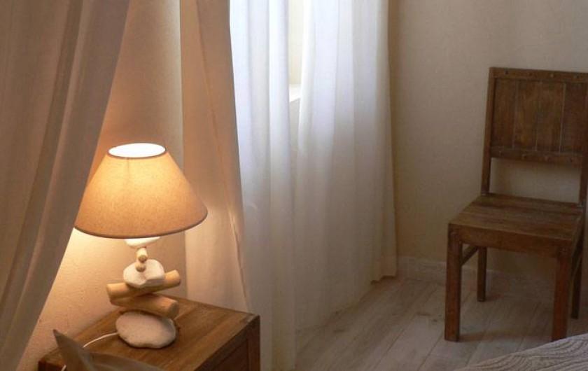 Location de vacances - Chambre d'hôtes à Pailloles - Chambre Zénitude