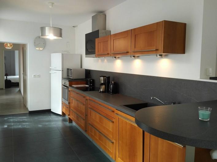 Location de vacances - Appartement à Colleville-sur-Mer - Cuisine