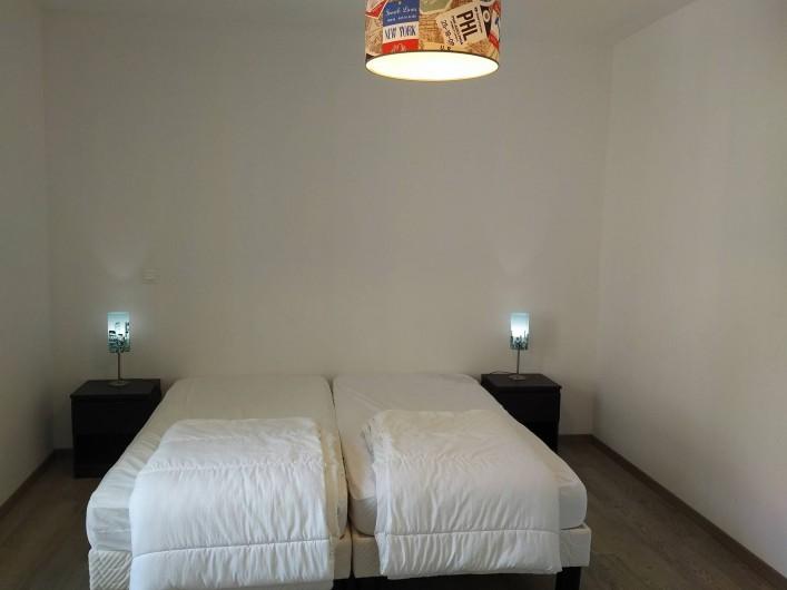 Location de vacances - Appartement à Colleville-sur-Mer - La chambre Twin