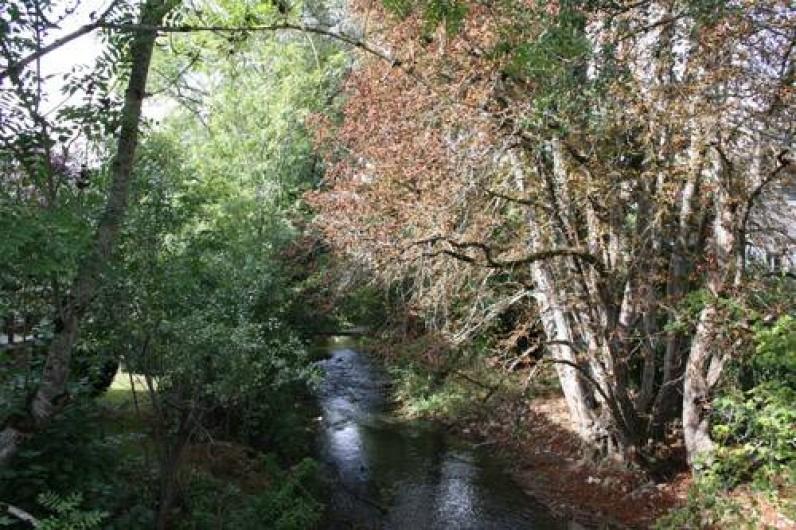 """Location de vacances - Chambre d'hôtes à Sainte-Vertu - La rivière """"le Serein"""""""