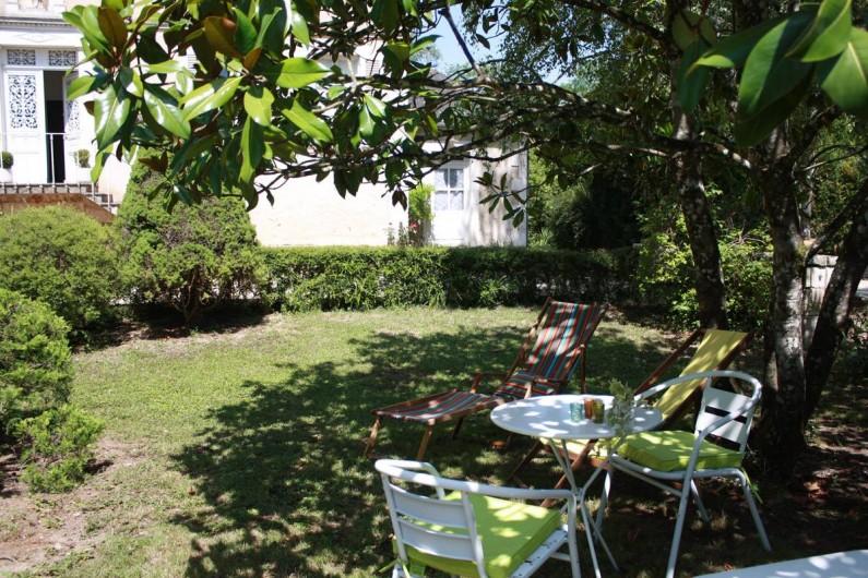 Location de vacances - Chambre d'hôtes à Sainte-Vertu - Le jardin