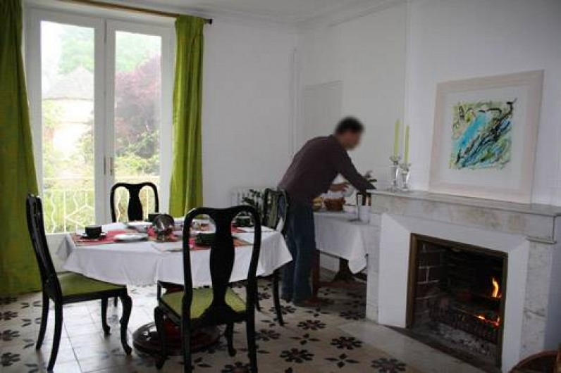 Location de vacances - Chambre d'hôtes à Sainte-Vertu - Le salon