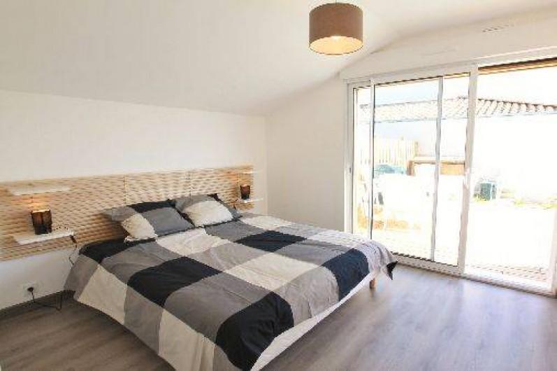 Location de vacances - Villa à Talmont-Saint-Hilaire - chambre double 1